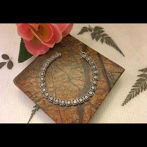 Jewelry - 14K WHITE DIAMOND BRACELET (8.1 DWT GOLD).